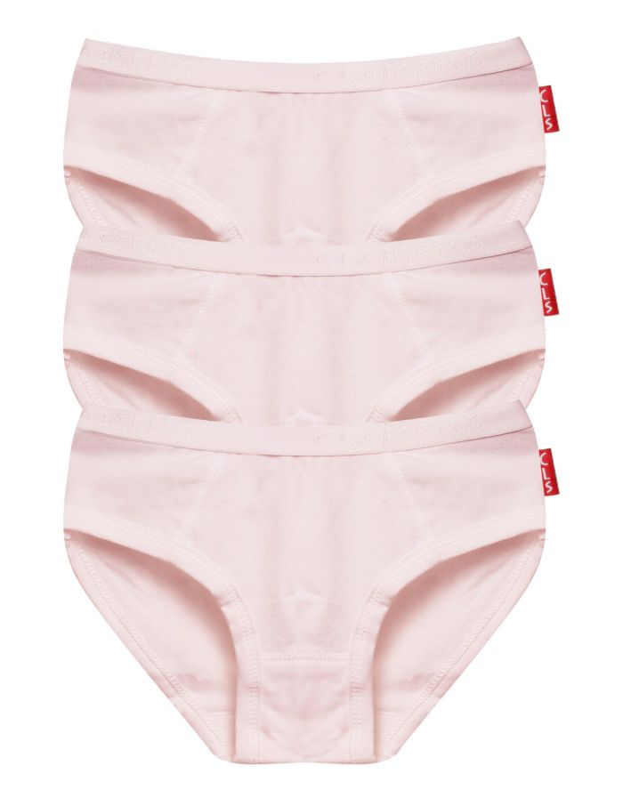 MEISJES 3-PACK HIPSTER PINK CL730